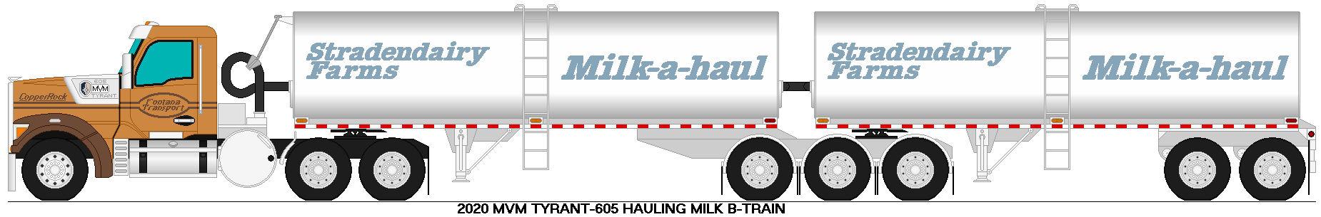 MVM Tyrant 605 milk b-train