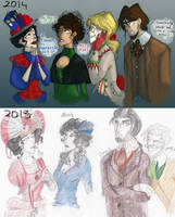 Draw this again, PP/DW crossover by Linna934