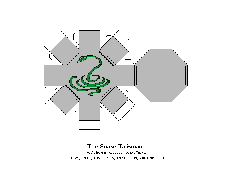 The Snake Talisman by Gamekirby