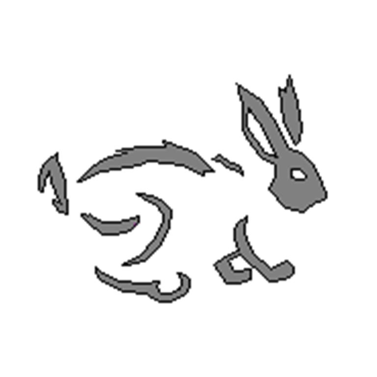 Pumpkin JCA Rabbit Pattern by Gamekirby