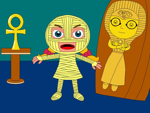 The Mummy of AnniePatra by Gamekirby