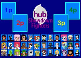 HUB Showdown Fighters Board by Gamekirby