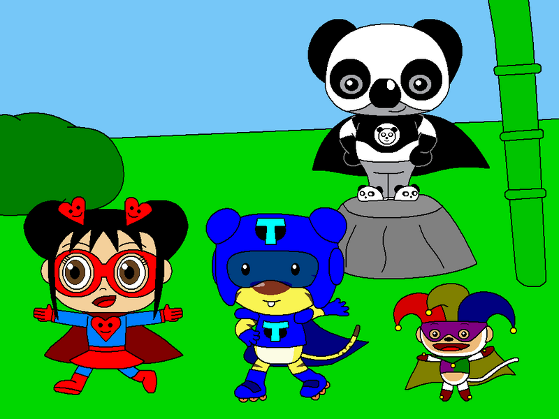 ppg super heroes the kai lan superhero team by gamekirby on deviantart