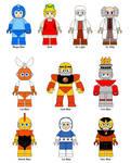 LEGO Mega Man characters