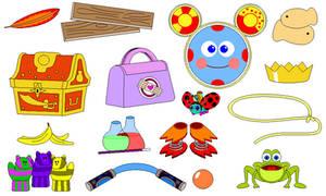 Disney Junior Race-a-Rama Items