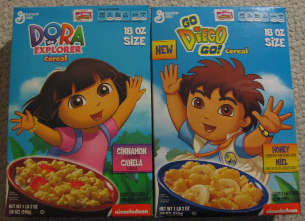 Dora/Diego Cereals By Gamekirby On DeviantArt