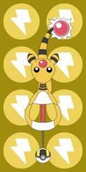 Pokemon Keyblade 181 - Ampharos by Gamekirby