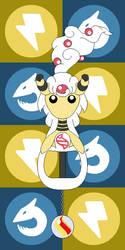Pokemon Keyblade 181 - Mega Ampharos by Gamekirby