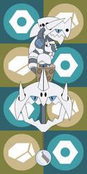 Pokemon Keyblade 306 - Mega Aggron by Gamekirby