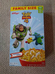 Toy Story 4 Cereal Box Side 2 by Gamekirby
