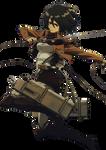 Mikasa Ackerman Render