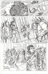 Starlord. Sample Page.
