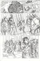Starlord. Sample Page. by PORTAVERITAS