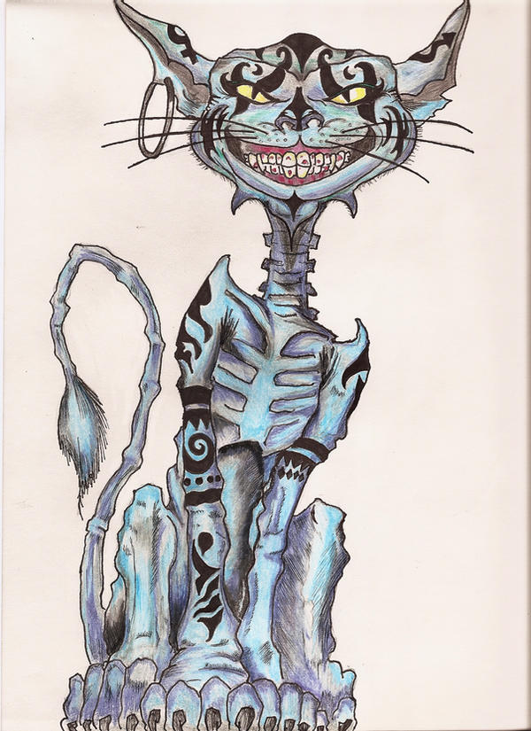 Cheshire Cat Human Form