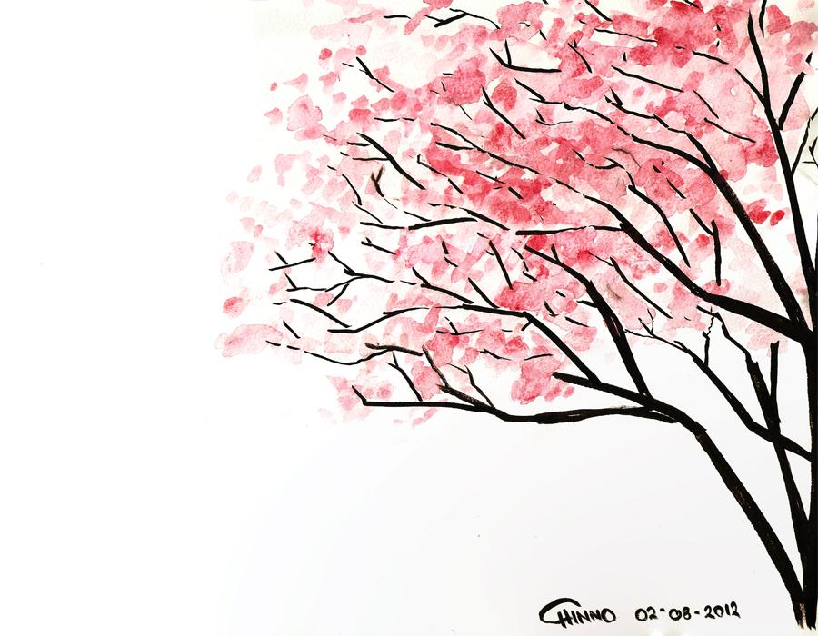 Cherry Blossom By Cappuchinnopony