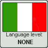 Italian Language Level NONE by Flazilla