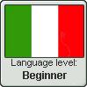 Italian Language Level Beginner by Flazilla