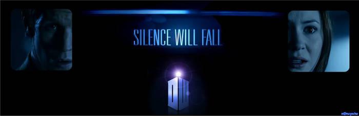 Silence will fall  Banner