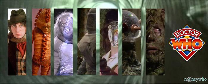 Doctor Who banner season 13 Tom Baker