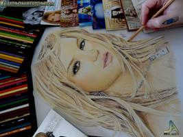 Britney Spears fanart finish