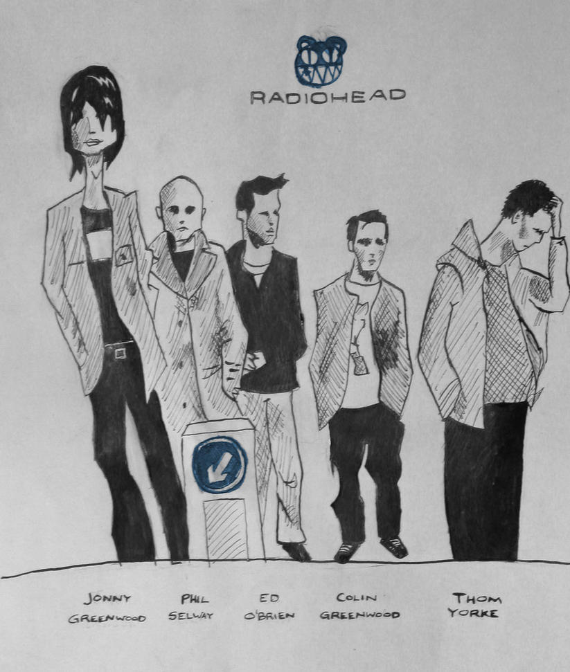 Radiohead Inked by MobaxWob