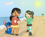 President Lilo and President Vanellope
