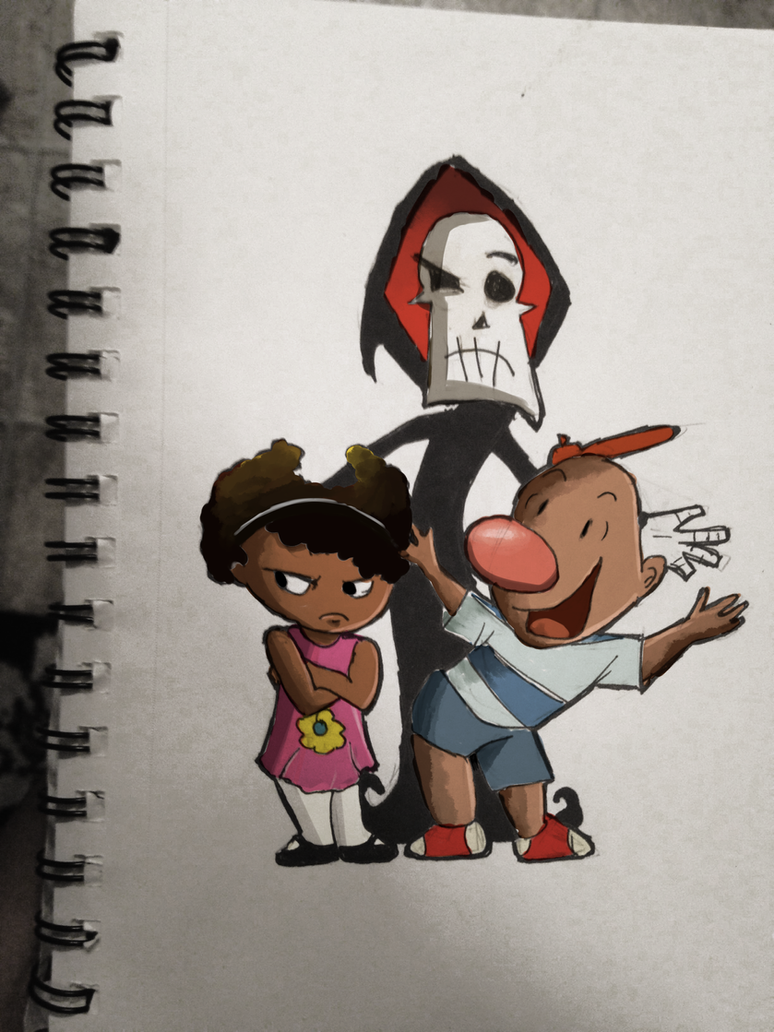 Jamaican Billy and Mandy by tokyoterrorart
