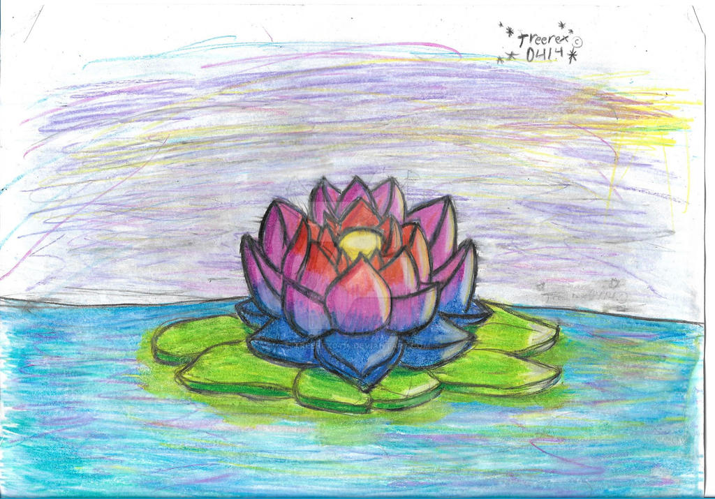 Water Lily by Treerex0414