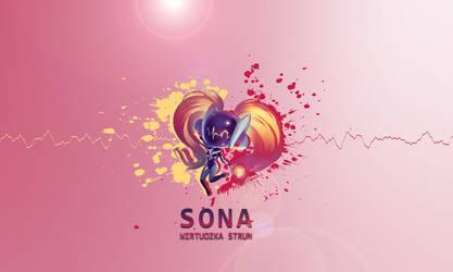 Sona - Wirtuozka Strun by Mizuhii