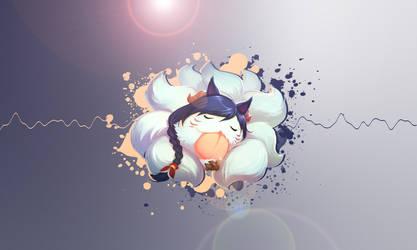 Ahri by Mizuhii