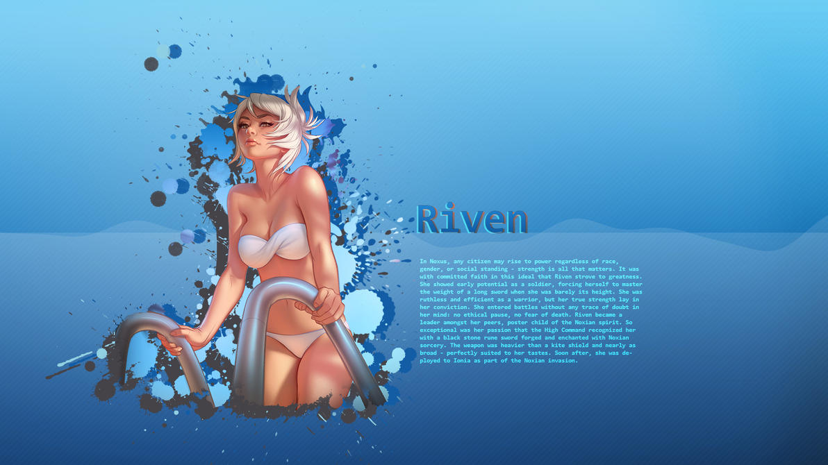 Pool Party Riven by Mizuhii