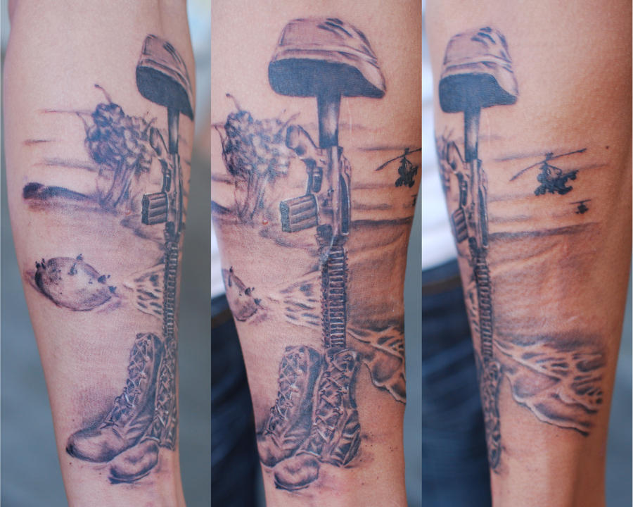 fallen soldier tattoo. Fallen Soldier by