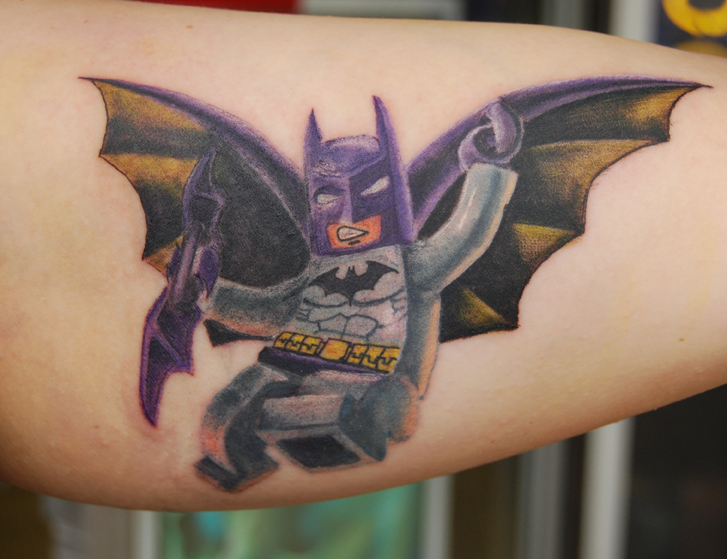 Lego Batman by NateTheKnife