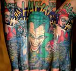Joker and Harley Half Sleeve on 331Erock