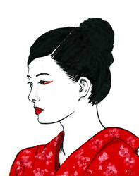 Sayuri by laurenmegan-art