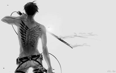 Wings of Freedom Levi by Morgiee89