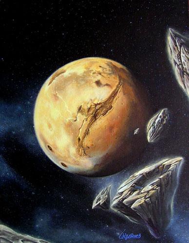 Guests Mars by SKrainev