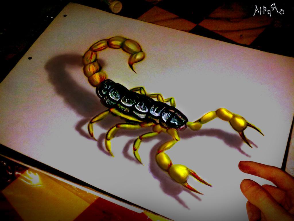 SCORPION 3D By AlbaRoart