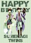 Happy Birthday Sumeragi twins 19/02
