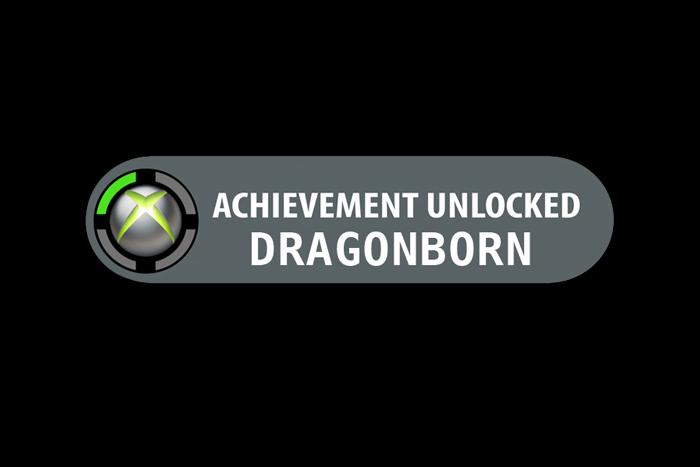 Dragonborn - Achievement Unlocked by SAMURAi-GR on DeviantArt