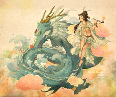 Water Dragon 2012 by feng-gao-long