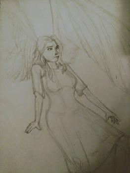 10 Minute Sketch- Aubren Redeemed