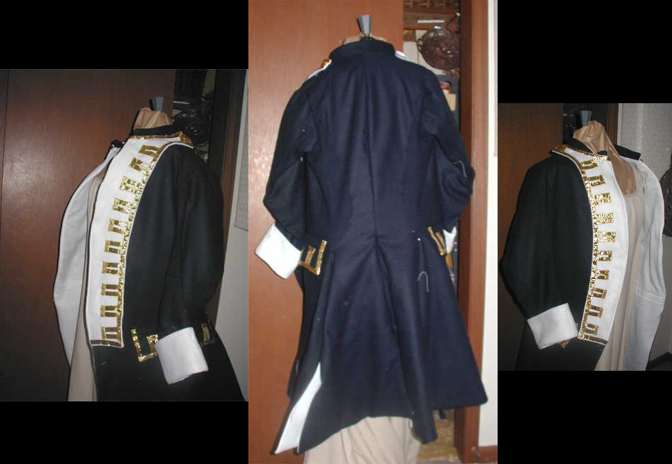 Frock Coat Dissection by CdreJohnPaulJones