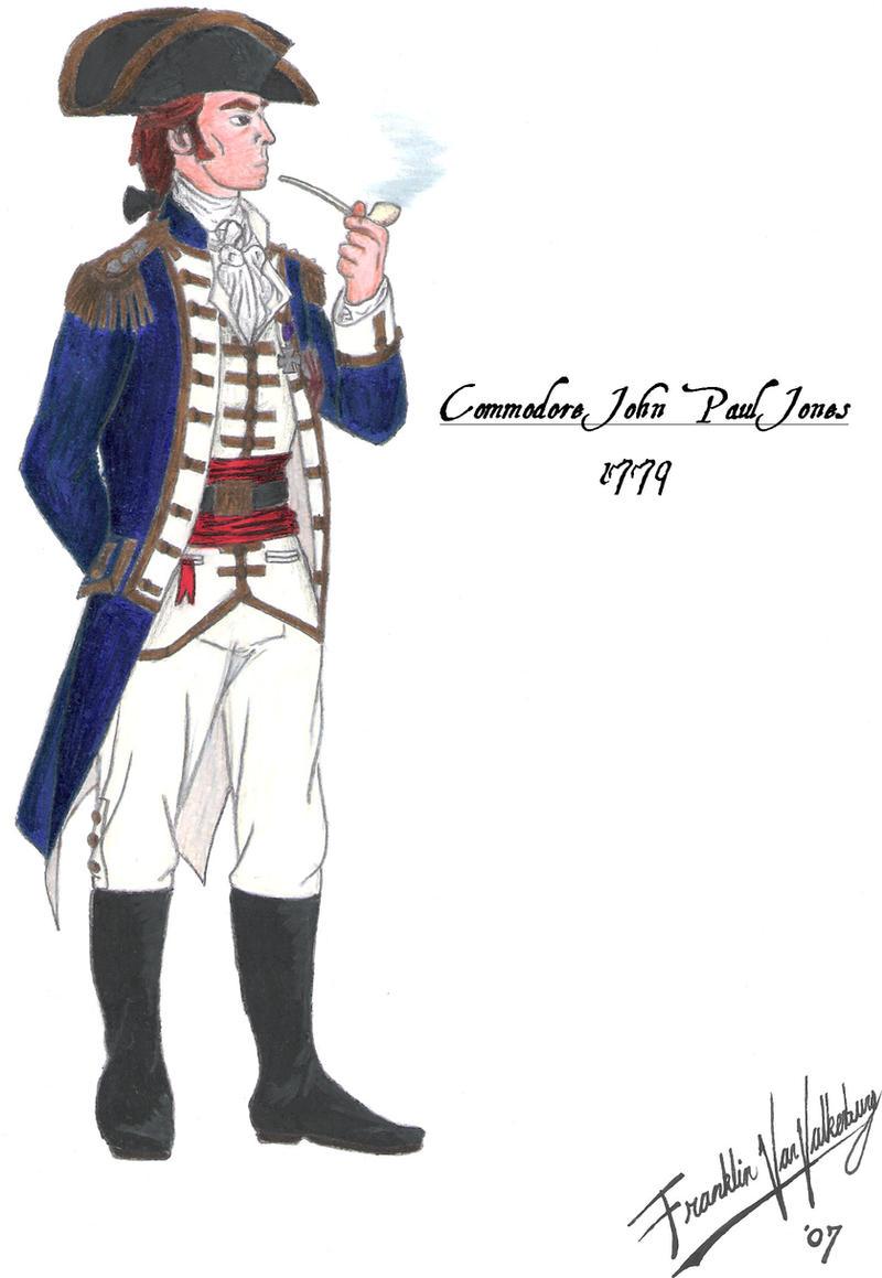 John Paul Jones - 1779 by CdreJohnPaulJones