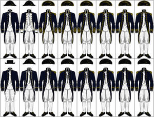 Uniforms of the Royal Navy, 1795-1812