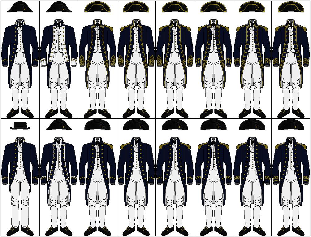 Uniforms of the Royal Navy, 1795-1812 by CdreJohnPaulJones ...