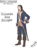 Ex-Commodore Norrington by CdreJohnPaulJones