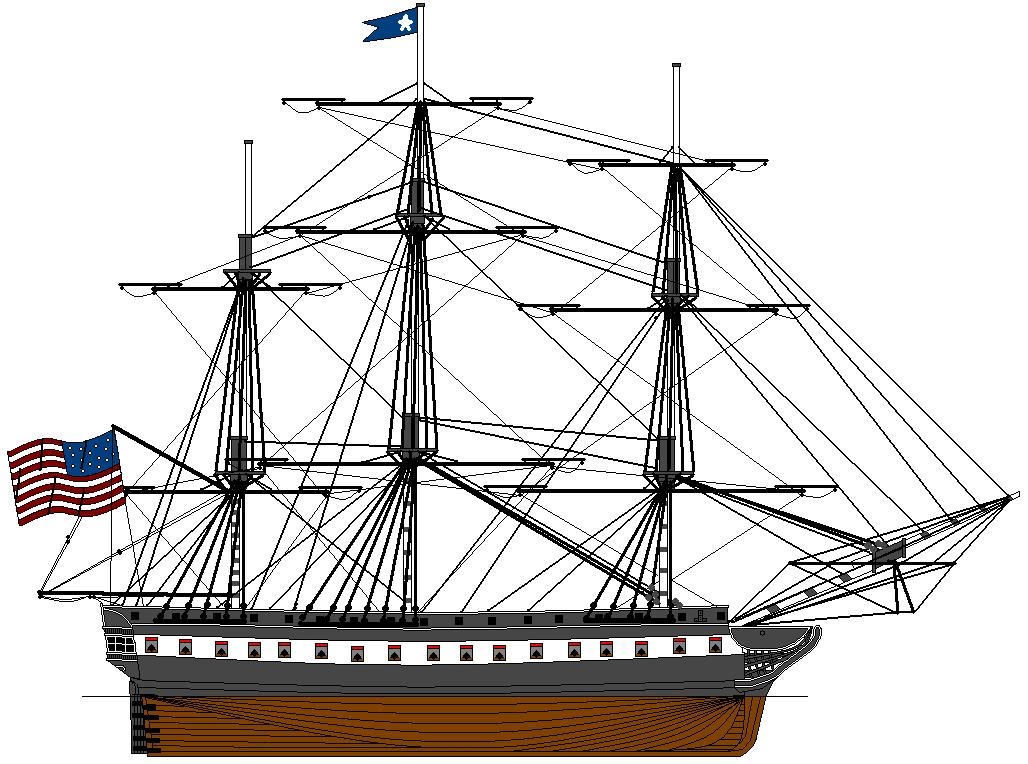 Uss Constitution Wallpaper USS Constitution by Cd...