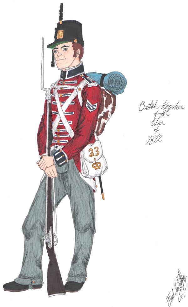 The Redcoat - 1812 by CdreJohnPaulJones