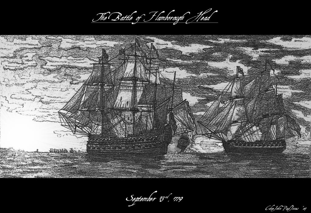 The Battle of Flamborough Head by CdreJohnPaulJones